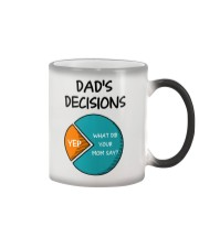 Dad's Decision Color Changing Mug thumbnail