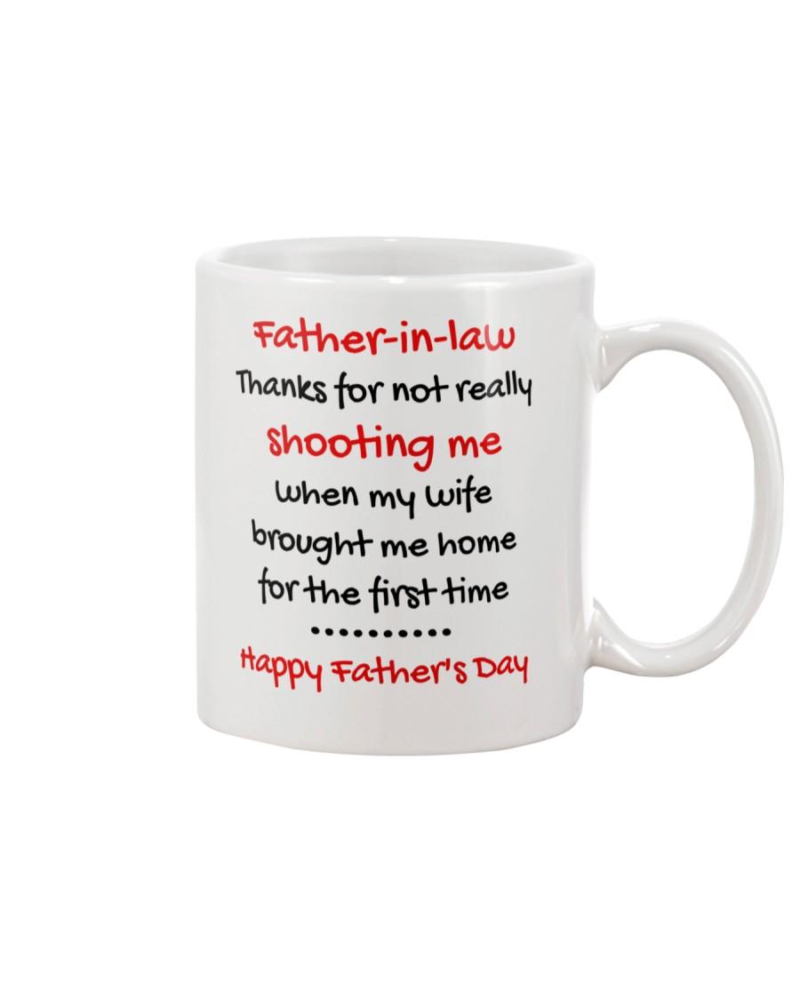 Not Really Shooting Me Mug