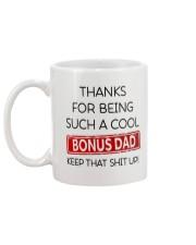 Bonus Dad Mug back
