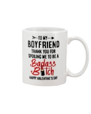 Boyfriend Spoiling Me  Mug front