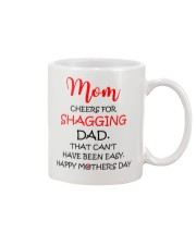 Cheers For Shagging Dad Mug front