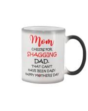 Cheers For Shagging Dad Color Changing Mug thumbnail
