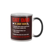 Cat Dad Color Changing Mug thumbnail