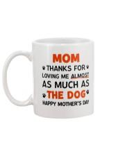 Almost The Dog Mug back