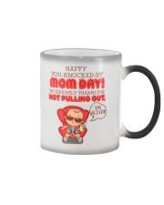 Happy You-knocked-up Mom Day Color Changing Mug thumbnail