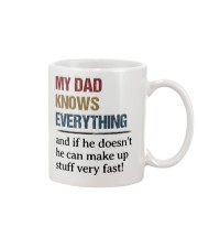 Dad Knows Everything Mug front