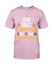 First Xmas As An Engaged Couple Classic T-Shirt thumbnail