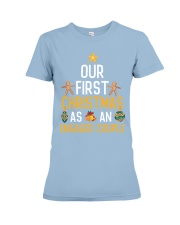 First Xmas As An Engaged Couple Premium Fit Ladies Tee thumbnail