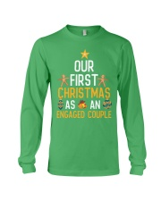 First Xmas As An Engaged Couple Long Sleeve Tee thumbnail