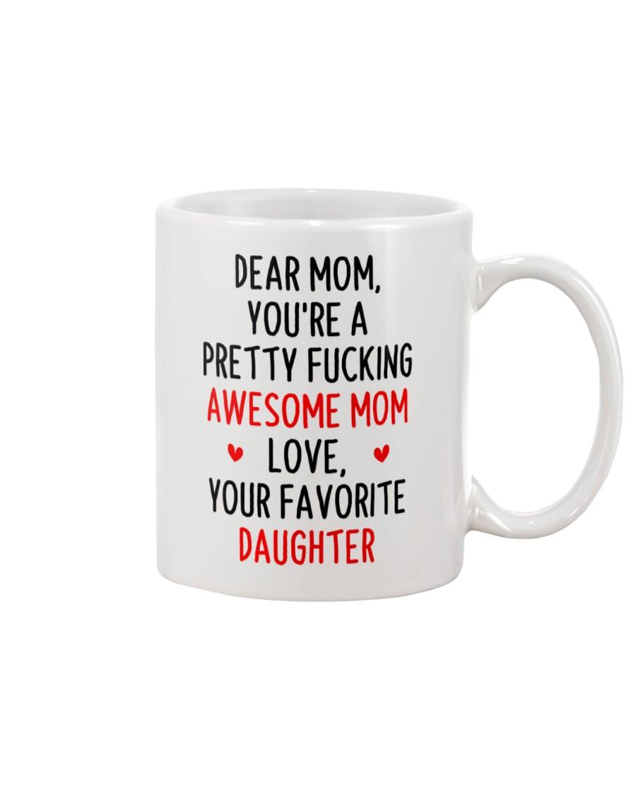 Awesome Mom Favorite Daughter Mug