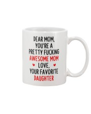 Awesome Mom Favorite Daughter Mug front