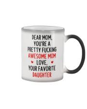 Awesome Mom Favorite Daughter Color Changing Mug thumbnail