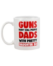 Dads With Pretty Daughter Mug back