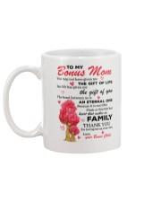 The Gift Of Bonus Mom Mug back
