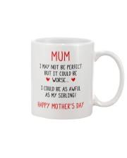 As Awful As My Sibling Mug front