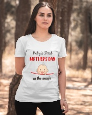 Baby First Mother's Day Inside Ladies T-Shirt apparel-ladies-t-shirt-lifestyle-05