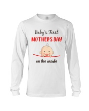 Baby First Mother's Day Inside Long Sleeve Tee thumbnail