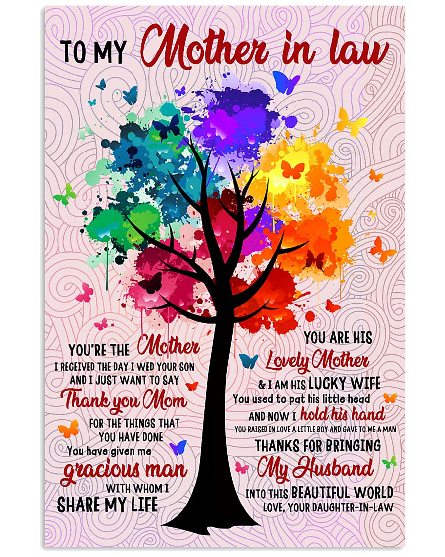 Thank You Mother-in-law 11x17 Poster
