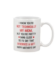 Not Technically Deserves A Gift Mug front
