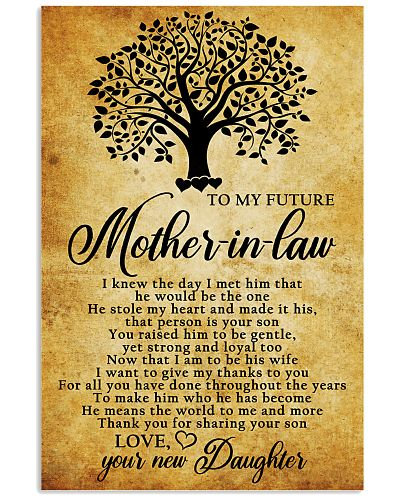 To My Future Mother-in-law