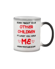 Sorry About Other Children Ver2 Color Changing Mug thumbnail