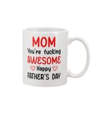 Mom Awesome FD Mug front