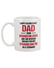 Your Grandchildren Are The Reward Mug back