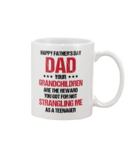 Your Grandchildren Are The Reward Mug front
