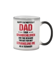 Your Grandchildren Are The Reward Color Changing Mug thumbnail