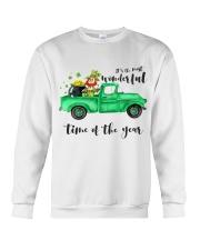 Most Wonderful Time Truck Crewneck Sweatshirt thumbnail