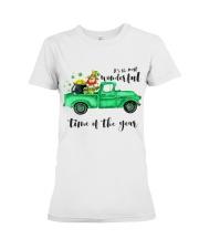 Most Wonderful Time Truck Premium Fit Ladies Tee thumbnail