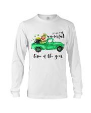 Most Wonderful Time Truck Long Sleeve Tee thumbnail
