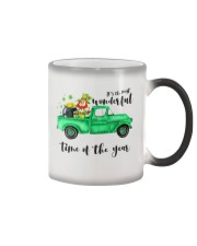 Most Wonderful Time Truck Color Changing Mug thumbnail