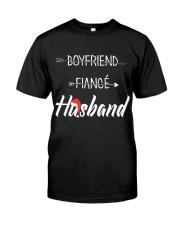 Boyfriend Fiance Husband Hat Premium Fit Mens Tee thumbnail
