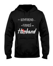 Boyfriend Fiance Husband Hat Hooded Sweatshirt front