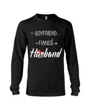 Boyfriend Fiance Husband Hat Long Sleeve Tee thumbnail