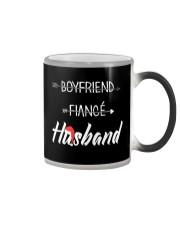 Boyfriend Fiance Husband Hat Color Changing Mug thumbnail