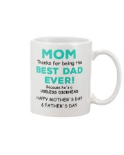 Being The Best Dad Mug front