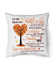 "My Special Mother-in-law Pillow Indoor Pillow - 16"" x 16"" thumbnail"