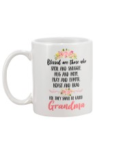 Blessed To Be Called Grandma Mug back