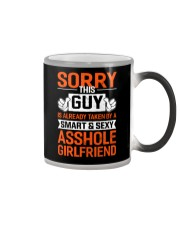 Sorry This Guy Is Taken Color Changing Mug thumbnail
