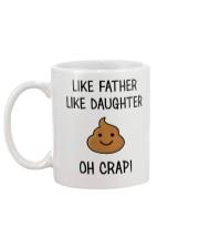 Like Father Like Daughter Mug back