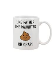 Like Father Like Daughter Mug front