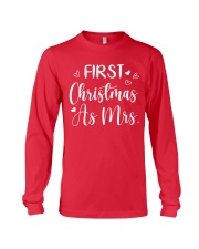 First Christmas As Mrs Long Sleeve Tee thumbnail
