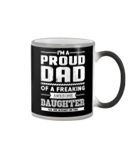 Proud Dad Of Freaking Awesome Daughter  Color Changing Mug thumbnail