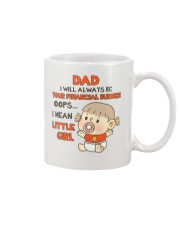 Oops I Mean Little Girl Mug front