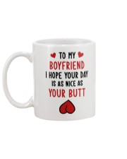 Boyfriend Nice As Your Butt Mug back