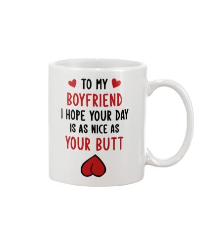 Boyfriend Nice As Your Butt