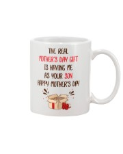 Real Mother's Day Gift Son  Mug front