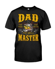 The Grill Master Premium Fit Mens Tee front
